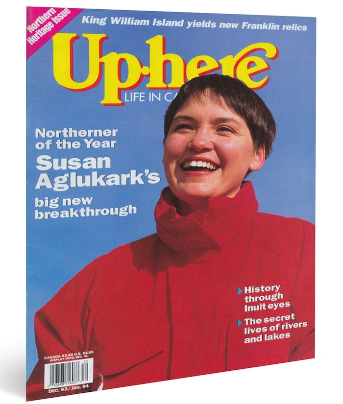 Susan Aglukark's debut album, Arctic Rose, was released independently in 1992. Up Here would name the singer our Northerner of the Year in 1993, two years before Aglukark's sophomore album, This Child, became a Canadian bestseller.