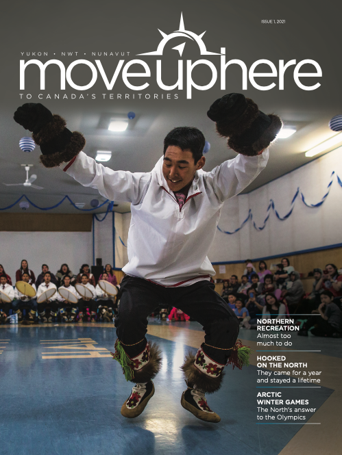 The cover of Move Up issue number 1, 2021