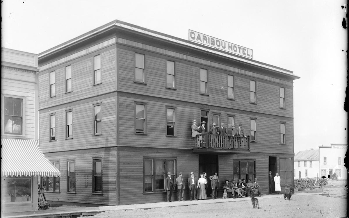 The famous Caribou Hotel is a designated Yukon Historic Site and one of the oldest buildings in the Yukon's Southern Lakes region.