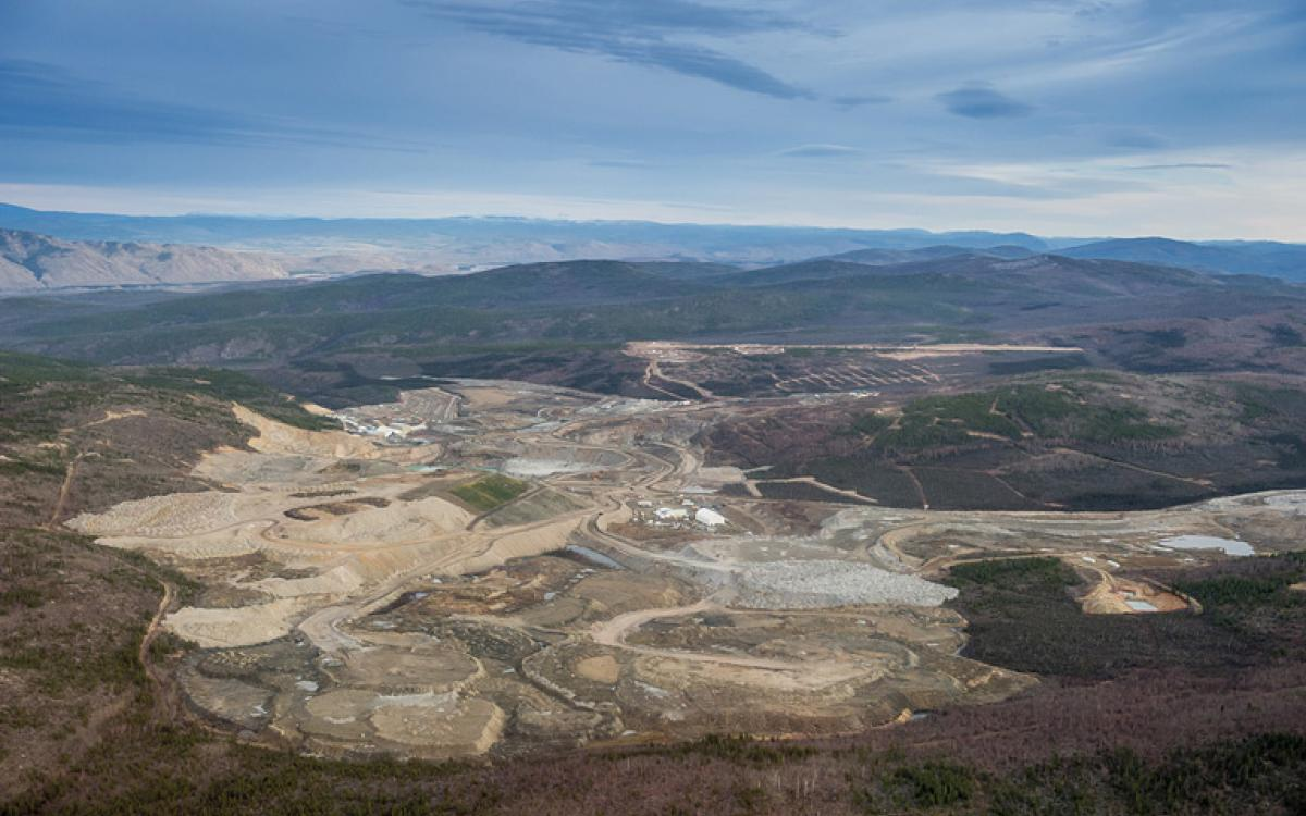 Expanding horizons: Capstone Mining's Minto copper mine is getting bigger. Photo courtesy of Capstone Mining