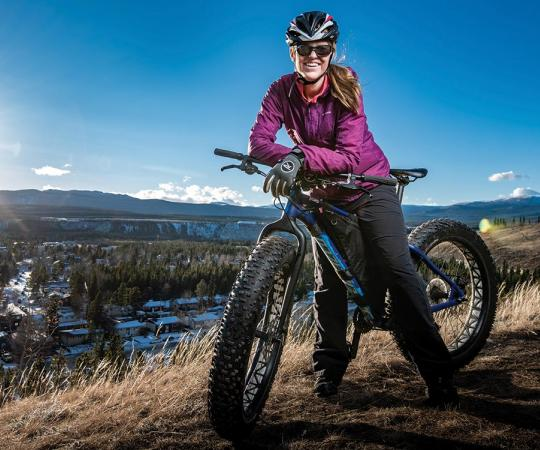 Carcross Yukon has become a top destination on the international mountain-biking scene.