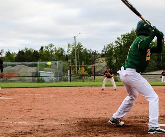 Tommy Forrest Ballpark in Yellowknife. Photo courtesy Ollie Williams