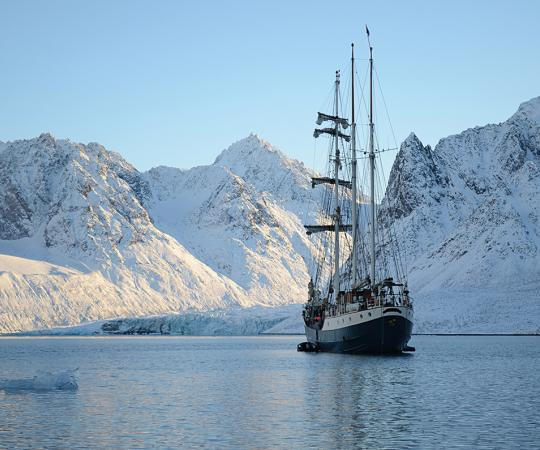 The Barquentine tall ship. Photo courtesy The Arctic Circle