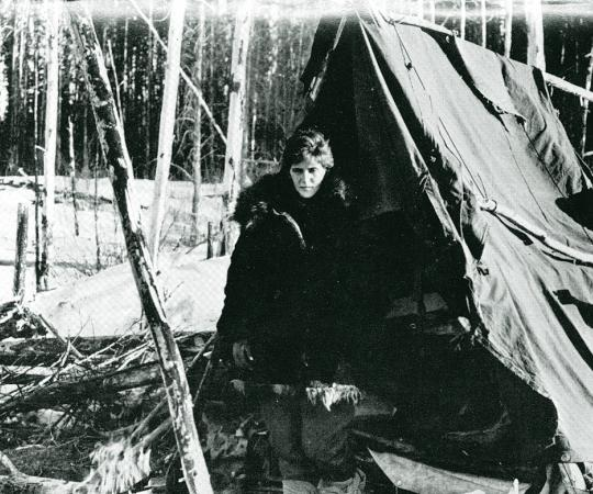 Helen Klaben was near death when she was rescued in 1963. She and Ralph Flores had survived a plane crash and six hungry, cold weeks in the bush. Courtesy Charles Hamilton