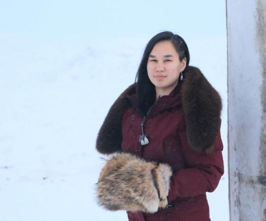 When it comes to Nunavut's future, 25-year-old Mumilaaq Qaqqaq is over taking cues from southern Canada.